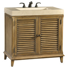 Transitional Bathroom Vanities And Sink Consoles by Ambella Home Collection, Inc.