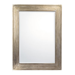 Capital Lighting - Capital Lighting M402401 Decorative Mirror Collection Beveled Rectangle Framed M - Product Features: