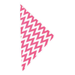 """Pine Cone Hill - PCH Chevron Fuchsia Napkin Set of 4 - PCH delivers simple style to the dining table with Chevron cloth napkins. Layer this classic zig zag pattern with table linens in other patterns and colors to create a range of contemporary looks. 22"""" Square; Set of 4; 50% cotton, 50% linen; Designed by Pine Cone Hill, an Annie Selke company; Machine wash, tumble dry low"""