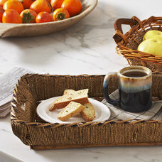 Traditional Serving Trays by The Lucky Clover Trading Company