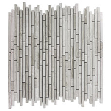 Contemporary Mosaic Tile by Tile Bar