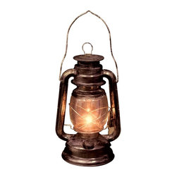 Light up Old Lantern - Light up your house with this spooky, old lantern.