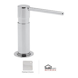 "Rohl - Rohl LS2150APC Polished Chrome Modern Modern Deck Mounted Soap - Modern Deck Mounted Soap Dispenser with 12 Ounce BottleThe Rohl Modern Bath collection reflects the contemporary theme popular in many of today's bathrooms, combined with the excellence Rohl is known for. Each family within the Rohl Modern Bath collection employs the quintessential shapes, striking contours, and minimalism that help define modern design. From bathroom faucets and Roman tub fillers to shower faucets and a full complement of bathroom accessories, the Rohl Modern Bath collection will give any bathroom a stylish upgrade.Rohl LS2150 Features:All brass construction – weight: 1 lb.Dezincificated brass protects against aggressive components in the soapSuperior finishing process – chemical, scratch, and stain resistantExtra strong pump for reliable operationSpout reach: 4-1/2"" (measured from center of dispenser base to center of dispenser outlet)1-1/4"" cutout, 1-3/4"" max deck installationSpecial tube inside prevents cloggingLarge 12 fluid ounce bottle capacityTop fillFully covered under Rohl's limited lifetime warrantyManufactured in New Zealand, Western Europe, and/or North AmericaAbout Rohl:Excellence, durability, and beauty. Family values, integrity, and innovation. These are all terms which aptly describe Rohl and its remarkable selection of kitchen and bathroom faucets and fixtures. Since 1983, Rohl has maintained a commitment to providing high-quality plumbing products for residential and commercial applications, while assuring these fixtures would make a difference in the overall décor in the living space. With a dedication to excellence throughout the home, Rohl has been satisfying homes, schools, hospitality venues, and restaurants all around the world. Rohl specializes in providing timeless designs for every type of theme, including traditional, transitional, and modern. When Rohl suggests its prod"