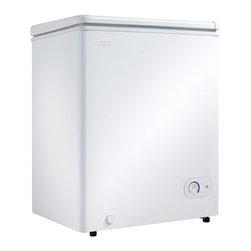 "Danby - 3.8 CF Chest Freezer - Dimensions: 24 15/16"" W x 22 3/16"" D x 33 1/16"" H"