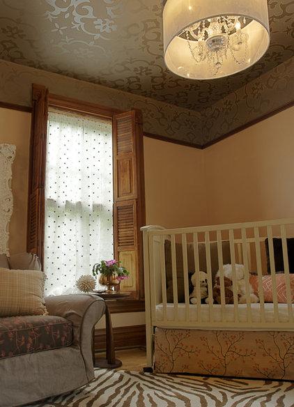 Traditional Nursery by PROjECT interiors + Aimee Wertepny