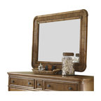 Tommy Bahama Home - Tommy Bahama Home Beach House Osprey Mirror in Golden Umber - Tommy Bahama Home - Mirrors - 010540205 - Framed with a reeded bamboo design and soft radius corners. May be hung vertically or horizontally.