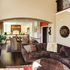 Traditional Living Room by Martin Bros. Contracting, Inc.