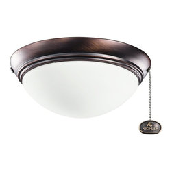 Kichler Lighting - Kichler Lighting Basic Low Profile 30-36 Ceiling Fan Light Kit X-BBO021083 - Kichler Lighting Basic Low Profile 30-36 Ceiling Fan Light Kit X-BBO021083