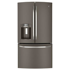 GE 26.7 cu. ft. French Door Refrigerator in Slate, ENERGY STAR-GFE27GMDES at The
