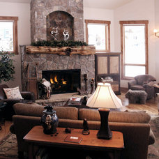 Traditional Living Room by D&M Designs