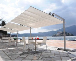 Italian Garden Awning - This awning has a clean, modern design and comes in multiple sizes to fit your space.