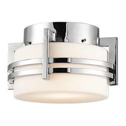 Kichler Lighting - Kichler Lighting 9557PSS316 Pacific Edge Transitional Outdoor Ceiling Light - Kichler Lighting 9557PSS316 Pacific Edge Transitional Outdoor Ceiling Light In Polished Stainless Steel