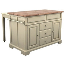 Transitional Kitchen Islands And Kitchen Carts by Home Plus USA