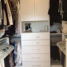 Traditional Closet by Andrea Rapke / Andrea Rapke Design, Inc.