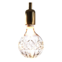 Crystal Bulb - Make your lights literally shine with these very design-happy crystal bulbs.