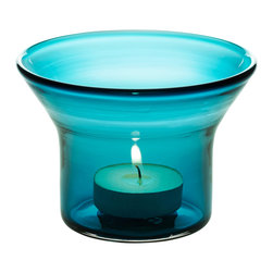 Niche Modern - Channel Votives- Sold Separately , Condesa - Strike a match and mark the moment with a Niche Modern handblown glass votive. In vibrant, luxurious new colors which are sure to bring a sense of ceremony and celebration to any table top.