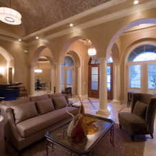 Mediterranean Family Room by Build Cincinnati of Coldwell Banker