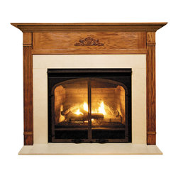 "Forshaw - Newport MDF Primed White Fireplace Mantel Surround - 42 inch - Model: SYE-42NEWMDF-PRIME. Primed Mantel. Simple elegance and understated styling. For home use. Ready to install. Dimensions: 53"" (W) x 42"" (H) x 7.44"" (L) x 75"" (OL) x 58.25"" (OH) x 6.44"" (S). This (MDF Primed White) mantel is ready to be painted."