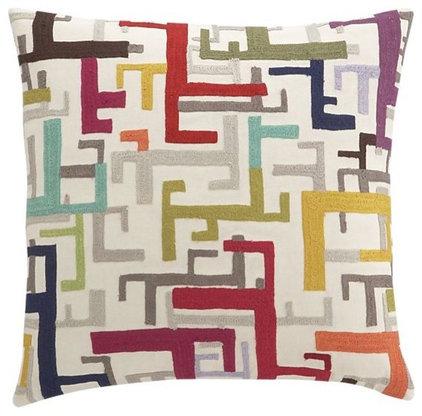 Contemporary Decorative Pillows Zenith Pillow