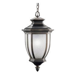 Kichler Lighting - Kichler Lighting 9843RZ Salisbury Bronze Outdoor Hanging Lantern - Kichler Lighting 9843RZ Salisbury Bronze Outdoor Hanging Lantern