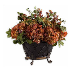 Uttermost - Uttermost English Autumn Floral Bouquet - 60083 - Uttermost English Autumn Floral Bouquet - 60083