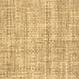 Sudan Weave - Sand - Ralph Lauren's collection of woven wallpapers from the Textures III book.