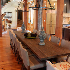 Contemporary Dining Room by Accents of the South