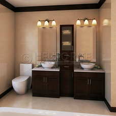 bathroom double vanity with center tower. Double Vanity W Center Linen Tower With  home decor Xshare us
