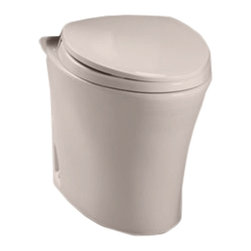 Toto - Toto CT794EF#12 Sedona Beige Eco Nexus Toilet Bowl Only, 1.28 GPF ADA - Utilizing an oval-shaped, flared design and a sleek, simplistic style, the Nexus line is a sophisticated addition to any decor.