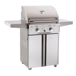 American Outdoor Grill - Portable LP Grill with 432 sq. in. Cooking Area - AOG Portable Outdoor Grills can be used on the patio, deck, by the pool, in the shade, or just about anywhere! All heavy duty stainless steel construction