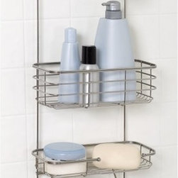 Zenith Products - Zenith E7704ST Premium Shower Caddy Multicolor - E7704ST - Shop for Shower and Tub Caddies from Hayneedle.com! Improve the functionality of your bathroom with the stainless steel Zenith E7704ST Premium Shower Caddy. About ZenithZenith Products Corporation is America's leading manufacturer of bathroom storage and organizational products for the retail market. Zenith offers a wide line of items and accessories that are both attractive and functional. Customers can choose from bath furniture in a variety of finishes materials sizes and designs. These products are complemented by matching space-savers tank-toppers and storage items that enable homeowners to make maximum use of bathroom space. Zenith helps decorate and organize bath and shower enclosures with its patented Twist-Tight curtain rods and broad range of shower caddies and lotion dispensers available in a wide array of styles and colors. Based in New Castle Del. Zenith products are distributed nationwide through home centers bath specialty shops mass merchants and catalog retailers.