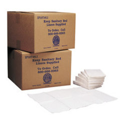 Sanitary Baby Changing LIners - White, biodegradable, three-ply. Its large in size:13 x 19. Quantity : 500 liners per case and Shpg. wt. 11 lbs.