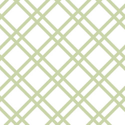 """Stencil Ease - Cornelius Wall Painting Stencil - Actual Size 15.4 wide x 15.4 high on a 19.5"""" x 19.5"""" plastic stencil sheet - production sizes also available. The Cornelius stencil is a Traditional lattice style pattern in an all-over pattern. You can add this all-over pattern to any room, design project or diy project. Try stenciling on Furniture, lamp shades, fabric, walls, floors."""