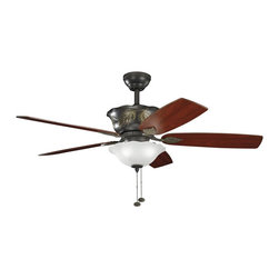 "Kichler Lighting - Kichler Lighting Tolkin 52"" Transitional Ceiling Fan X-ZO951003 - Kichler Lighting Tolkin 52"" Transitional Ceiling Fan X-ZO951003"