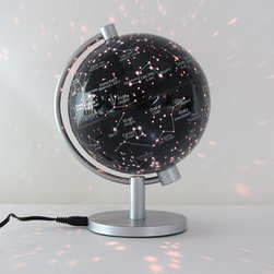 Illuminated Star Globe - This globe of constellations is much smaller than it looks (only 5 inches), but it contains the universe — or our visible universe, rather.