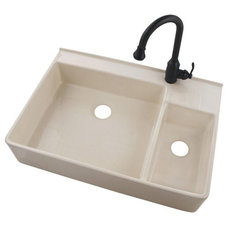 Traditional Kitchen Sinks by belleforet.com