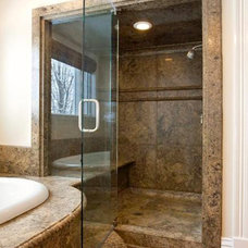 Contemporary Showerheads And Body Sprays by Stone Passion Northeast