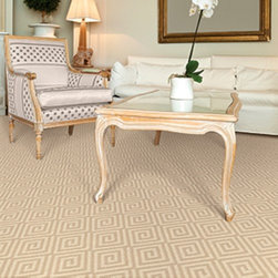Dabbieri Collection - This Mediterranean inspired pattern like Dabbieri's Bernini is popular right now, it is neutral while adding zest to any space.