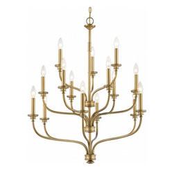 Minka Lavery - 4178-249 Harbour Point 15 Light Chandelier In Liberty Gold - Features: