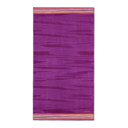 Missoni Home - Missoni Home | Liam Purple Beach Towel - Design by Rosita Missoni.