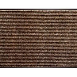 "buyMATS Inc. - 36"" x 60"" Apache Rib Mat Cocoa - Features:"