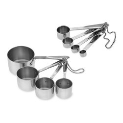All-Clad Stainless-Steel Standard Cups & Spoons - Where would we be without measuring cups and spoons?