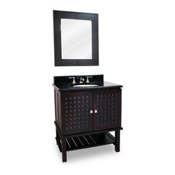 Lyn Design VAN042 Wood Vanity