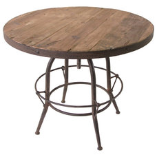 Industrial Indoor Pub And Bistro Tables by Kathy Kuo Home