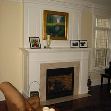 Traditional Indoor Fireplaces by Mercer Home Solutions