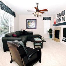Contemporary Family Room by Beautiful Habitat: Design & Decoration