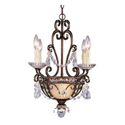 Savoy House - Crystal 6 Light Mini Chandelier from the Mini Chandeliers Collection - *Six light mini chandelierRequires six 60w medium base lamps