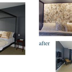 Master Bedrooms - roman custom upholstery