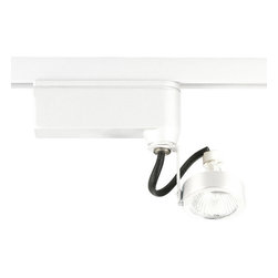 Progress Lighting - Progress Lighting P6339-28 1 Light Track Lighting in Bright White - Low voltage side mounted high-tech complete with transformer.