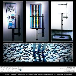 Glass & Steel Sculpture @ Concept -